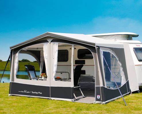 For Eriba Touring Caravans Walker Developed Special Awnings