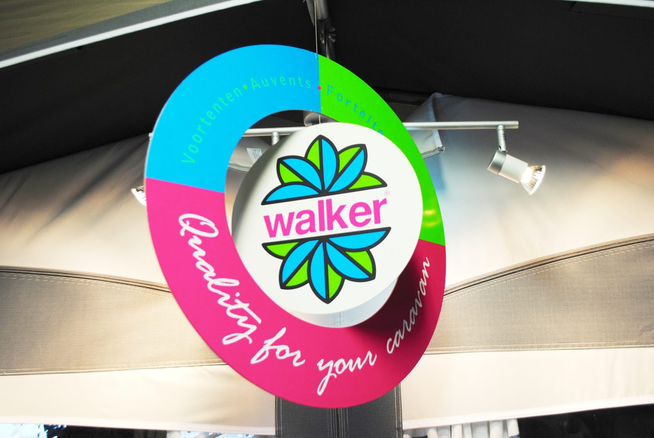 Walker voortenten showroom