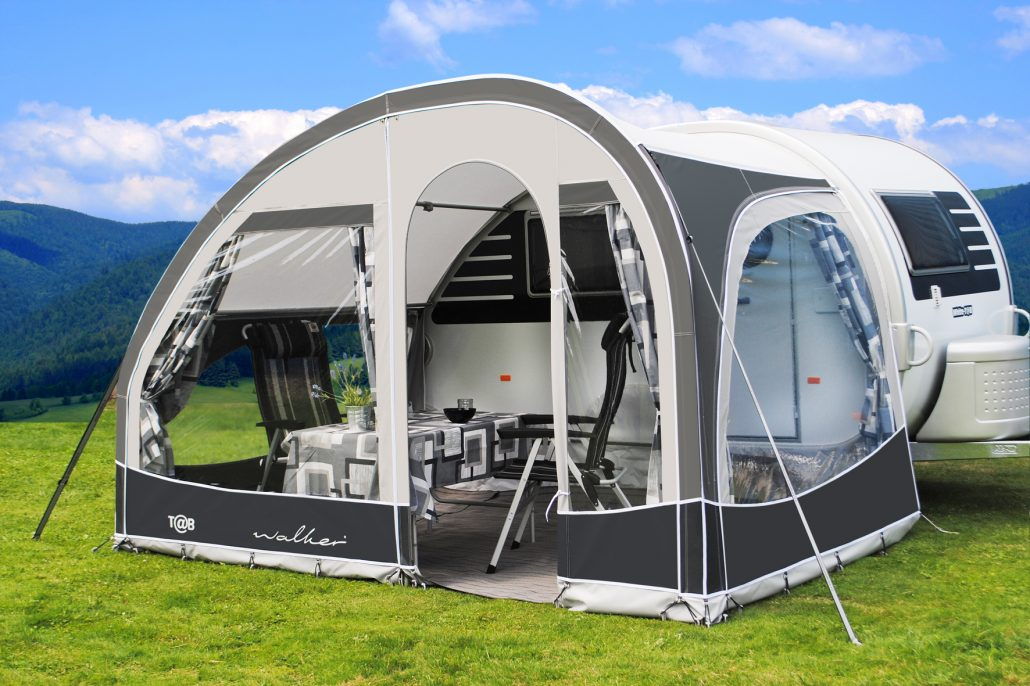 Walker awning and inflatable sun canopy for T@B 320/400 ...